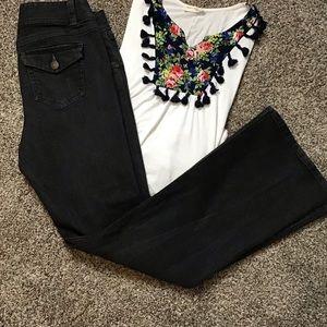 CAbi Black Jeans size 10